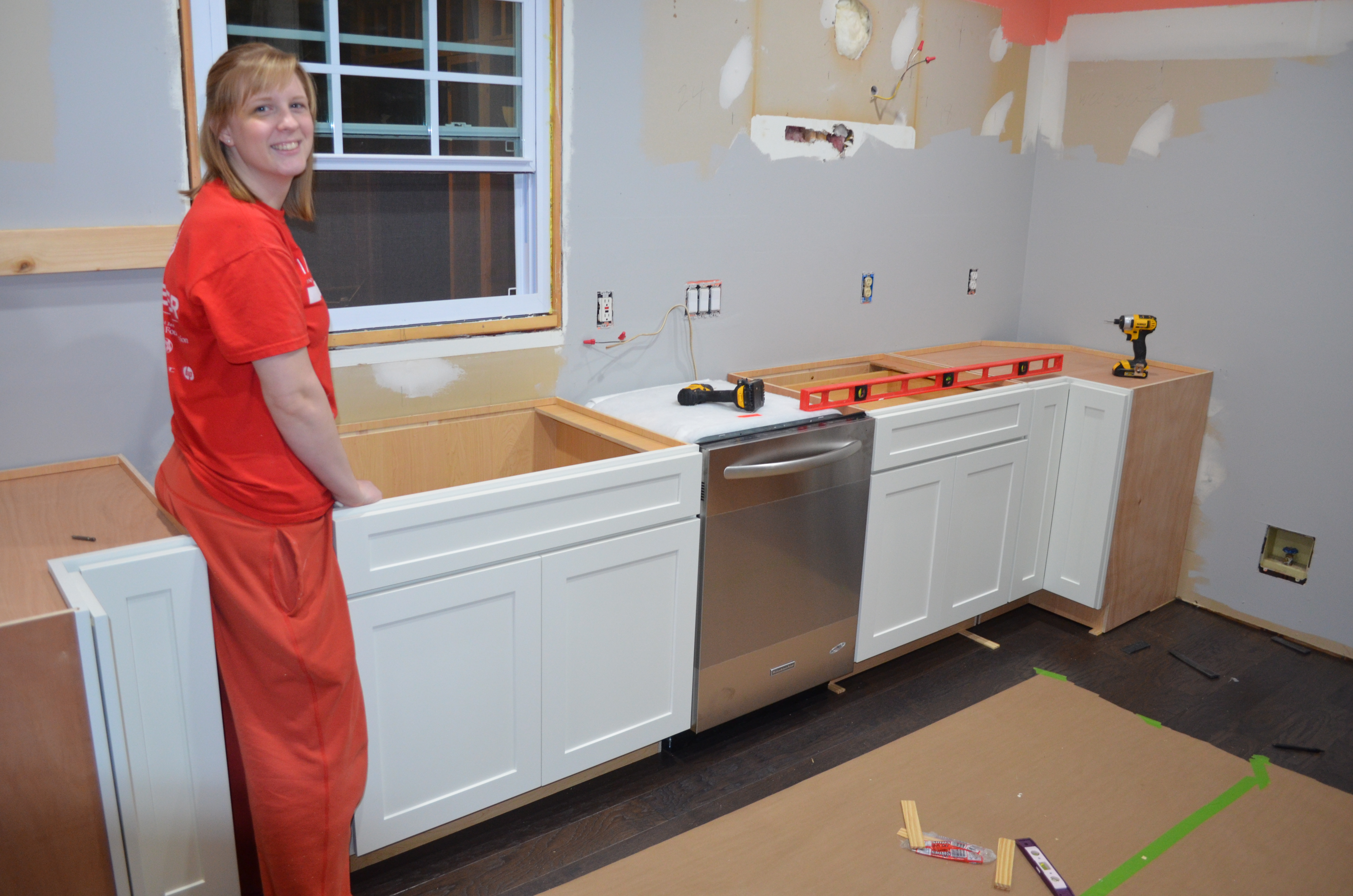 Countertop Dishwasher Good Guys : Kitchen Renovation, Part 1 - Scott and AshleyScott and Ashley